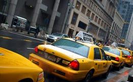 Taxis de Nueva York Fotografía de archivo
