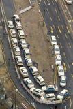 Taxis en Colonia Imágenes de archivo libres de regalías