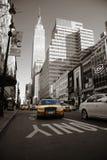 Taxis en Manhattan Fotos de archivo libres de regalías