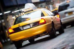 Taxis en Nueva York Imágenes de archivo libres de regalías