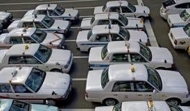 Taxis, Sendai, Japan Stock Photo