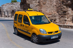 Taxis in Side, Turkey Stock Images