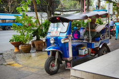 Taxis waiting for customers. Thailand Stock Images