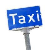 Taxiställning Arkivfoto