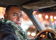 Taxista Fotografia de Stock Royalty Free