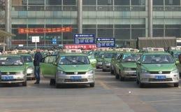 Taxistandplaats Royalty-vrije Stock Afbeelding