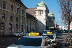 Taxistation Royaltyfri Foto
