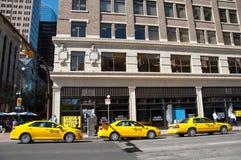 Taxiställning, Calgary Arkivfoton