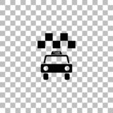 Taxisymbolsl?genhet royaltyfri illustrationer