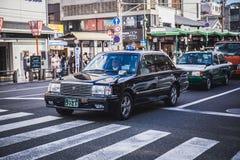 Taxitaxi royaltyfri fotografi
