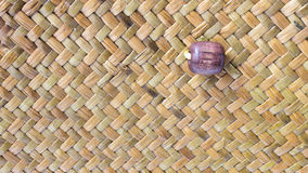 Taxtures by wood. Taxtures thai wood basket in thailand Stock Photography