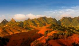 TaXua Sonla, Vietnam Royaltyfri Bild