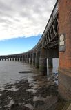 Tay Bridge. The Tay Rail Bridge in Dundee, Scotland Royalty Free Stock Images
