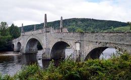Tay Bridge, Aberfeldy - General Wade's Bridge Stock Photo