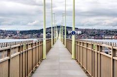 Tay Bridge Pedestrian Walkway imagem de stock