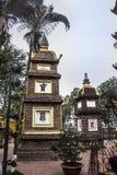 Tay Ho Pagoda Arkivbild