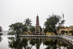 Tay Ho Pagoda Arkivbilder