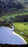 Tay jeziorna dolina. (Lough Tay) Obraz Stock