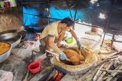Tay Ninh Chili Shrimp Salt ( Muoi Tom ), Tay Ninh province, Vietnam Royalty Free Stock Photography
