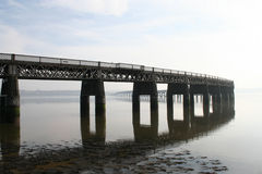 Tay Rail Bridge, Dundee. Scotland Royalty Free Stock Photo