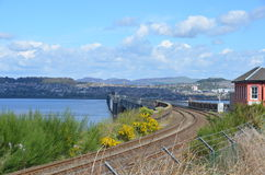 Tay and Rail Bridge Stock Photos