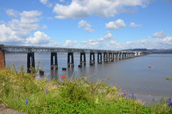 Tay Rail Bridge Stock Image