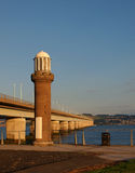 Tay Road Bridge foto de stock royalty free