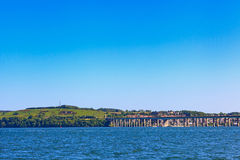 Tay Road Bridge, Dundee, Escócia fotografia de stock royalty free