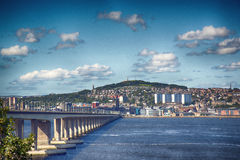 Tay Road Bridge Stock Photography