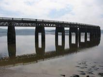 Tay Schienen-Brücke, Dundee Lizenzfreie Stockfotos