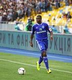 Taye Taiwo of Dynamo Kyiv Royalty Free Stock Photography