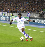 Taye Taiwo of FC Dynamo Kyiv Stock Photography