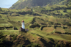 Tayid lighthouse on the hill of Batan Island, Batanes, Philippines - Series 2 Stock Photos