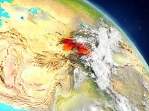 Tayikistán de la órbita libre illustration