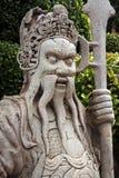 Tayland Bangkok Skulptur des königlichen Palastes von altem Lizenzfreies Stockbild