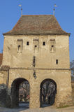 The Taylor's Tower- Sighisoara,Romania Royalty Free Stock Photography