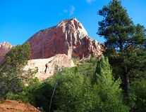 Taylor Creek, Kolob Canyons, Zion National Park, Utah. Views along trail on easy 5 mile hike on the Taylor Creek section Royalty Free Stock Photography