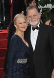 Taylor Hackford, Helen Mirren Royalty Free Stock Photography