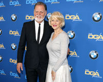 Taylor Hackford and Helen Mirren Royalty Free Stock Image