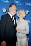Taylor Hackford and Helen Mirren Stock Photography