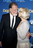 Taylor Hackford and Helen Mirren Royalty Free Stock Photo