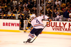 Taylor Hall Edmonton Oilers Royalty Free Stock Images