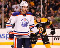 Taylor Hall Edmonton Oilers Images stock