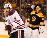 Taylor Hall Edmonton Oilers Stock Image