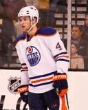 Taylor Hall Edmonton Oilers Royalty Free Stock Image