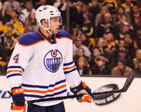 Taylor Hall Edmonton Oilers Royalty Free Stock Photography
