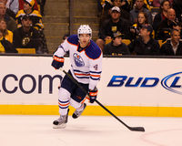 Taylor Hall Edmonton Oilers Royalty Free Stock Photo