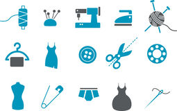 Taylor Icons Set Stock Image