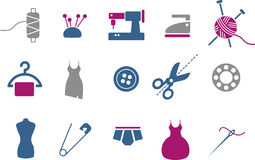Taylor Icons Set Stock Photography