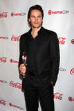 Taylor Kitsch arrives at the CinemaCon 2012 Talent Awards Royalty Free Stock Photo